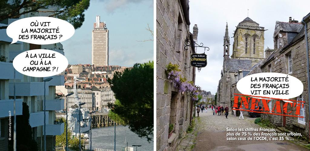 La France est composé de beaucoup de petites communes.