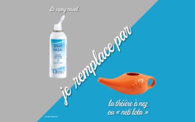 Remplacer le spray nasal en zéro déchet : une astuce économique et efficace pour nettoyer son nez
