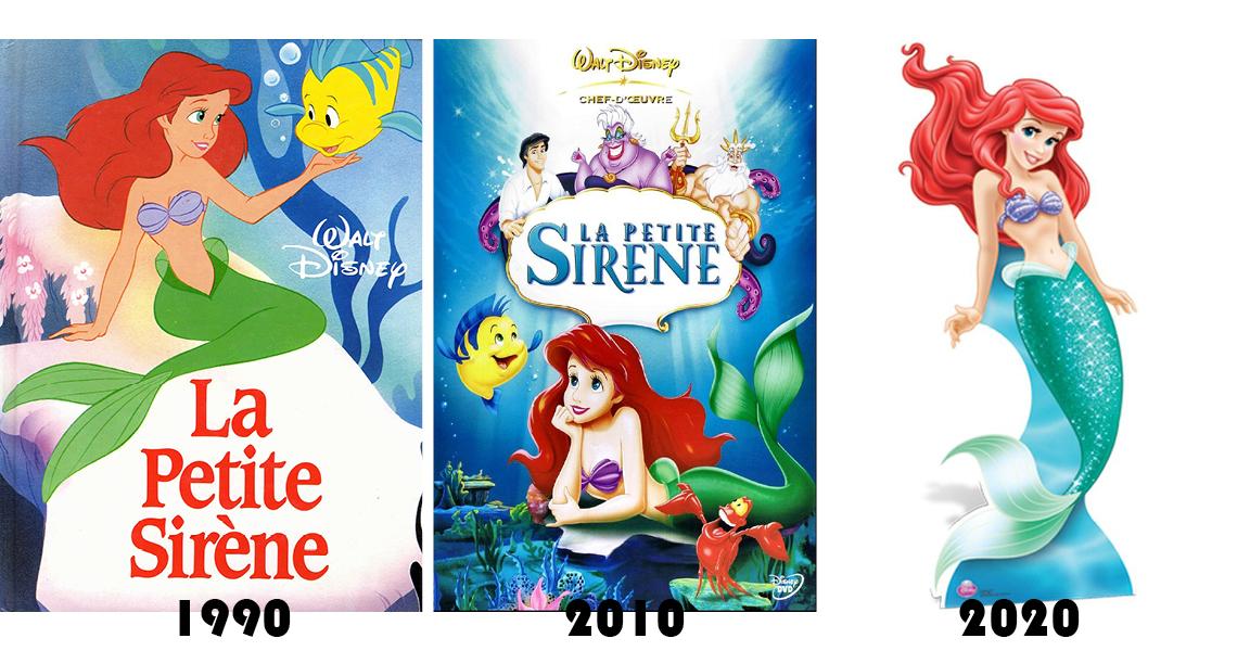 Énormes coups de bistouri chez Ariel, la Petite Sirène