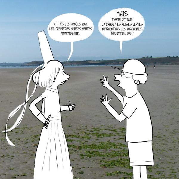 Système hors-sol est une des causes des marées vertes.
