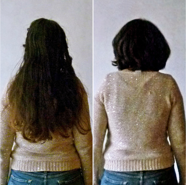 25 centimètres de cheveux pour une perruque